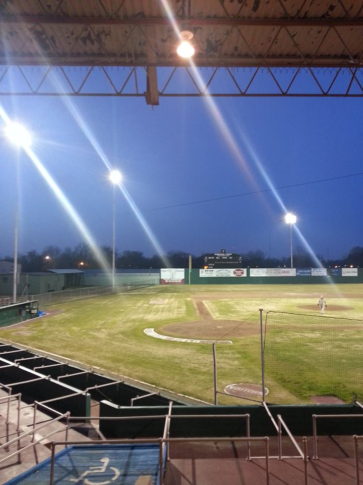 New Lights At Taylor Field