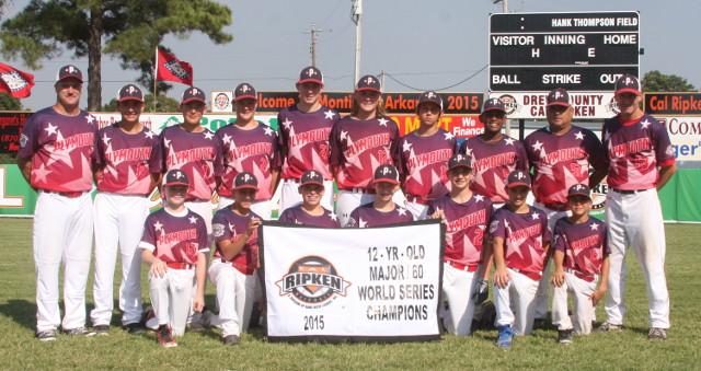 Cal Ripken Major60 World Series Monticello Arkansas