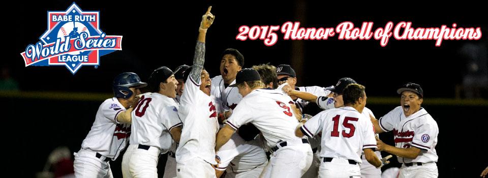 2015 Babe Ruth League World Series