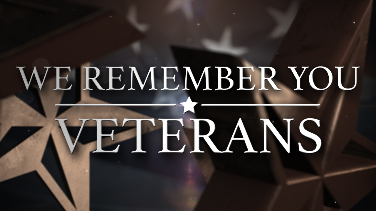 We _remember _you _veterans _day _graphic