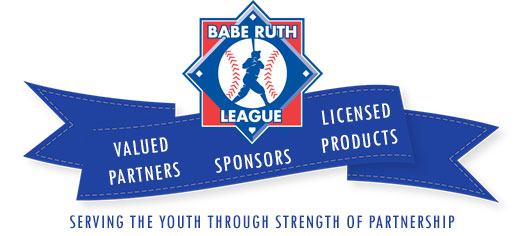 Babe Ruth League Valued Partners, Sponsors, and Licensed Products